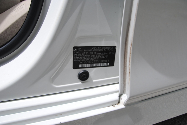 2011 BMW 535i